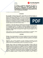 Convenio Cruz Roja - Comunidad de Madrid