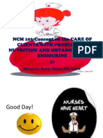 NCM 103 Metab n Endocrine