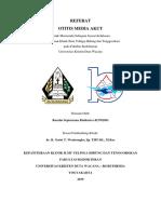 Referat OMA (Otitis Media Akut) - THT