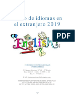Catalogo Idiomas Extranjero 2018