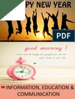 Information, Education & Communication Ppt