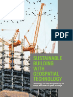 Sustainable Building with Geospatial Technology