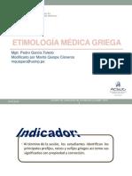 Leng. Sesión 6- Etimología Médica Griega-dome 2019 II