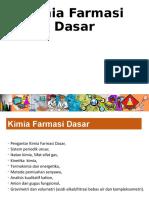 Kuliah Kimia Farmasi Dasar 090919.ppt