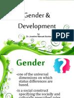 Gender and Development 160306150334