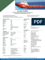 ALLIANZ RANGER Anchor Handling Supply Vessel DPS1
