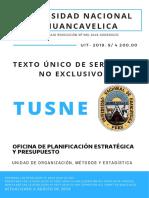 TUSNE 2019 - 21.08.19-UNH (Texto Único de Servicios No Exclusivos)