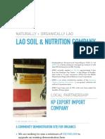 Lao Nutrition Company whitepaper