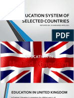 Education System of Selected Countries