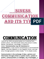 Business Communication by Priya