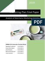 FINAL - Marketing Plan Matchamu