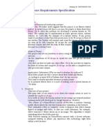 Software Requirements Specification Format Fit India Mini Project