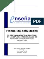 Manual Actividades Apoyo Conductual Positivo