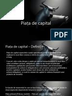 Piata de Capital Proiect