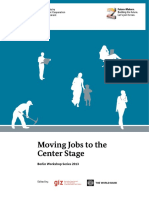 Moving jobs to the center stage