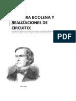 Algebra Booleana y Realizaciones de Circuito