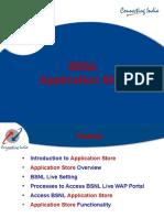 BSNL Application Sotre - Power Point