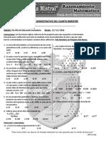 EXAMEN DE MATEMÁTICA - GM