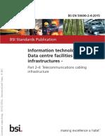 BS en 50600 - Telecommunications Cabling