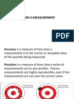 Lesson 5 Measurement