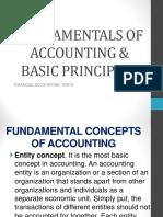 Fundamentals of Accounting & Basic Principles