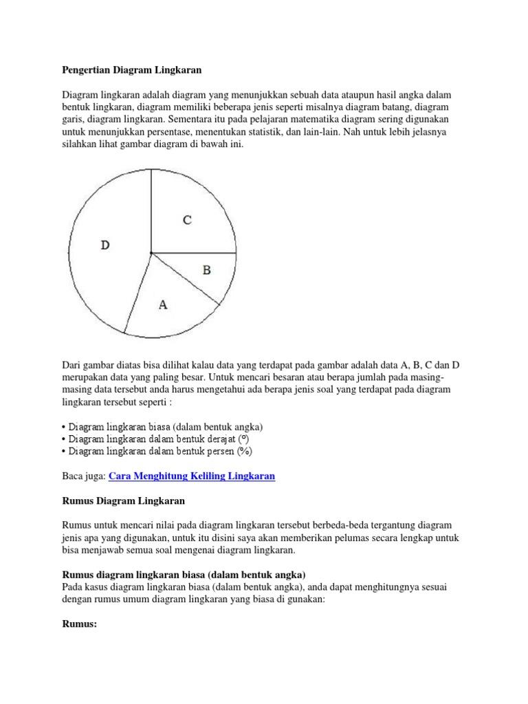 Contoh Soal Diagram Batang Garis Dan Lingkaran - Guru Ilmu ...