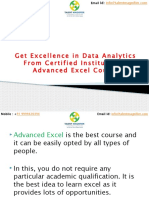 Get Excellence in Data Analytics From Certified Institute.pptx