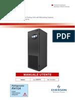 Liebert PDX S Manuale Utente Clima