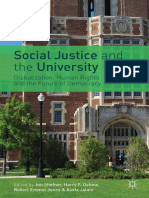 Jon Shefner, Harry F. Dahms, Robert Emmet Jones, Asafa Jalata (Eds.)-Social Justice and the University_ Globalization, Human Rights, And