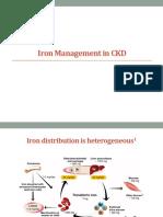 Iron Management in CKD