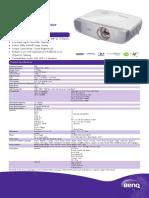 BenQ_W1210ST_Datasheet