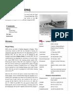 HMS Activity (D94)