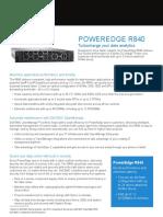 Dellemc Poweredge r840 Spec