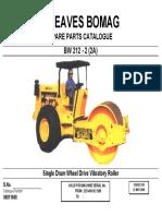 Part Cat-soil Compactor Bw 212
