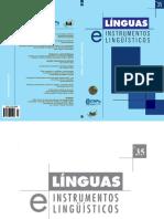 Dias (2015)C- Acontecimento Enunciativo e Formação Sintática