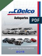 ACDELCO Catalogo Gral. Mld 2015