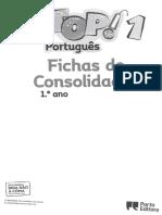Top 1 - Fichas de Consolidação