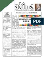 Datina - 10.09.2019 -prima pagină