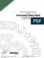 AMMONIA Preliminary Risk Analysis