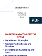 MARKET & COMPETITIVE SPACE