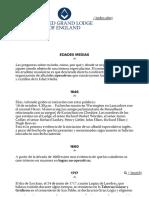 Gran Logia Unida de Inglaterra - Historia de La Masonería
