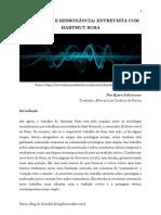 Aceleração e Ressonância Entrevista Com Hartmut Rosa PDF