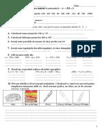 Evaluare Initiala Mate Cls 3