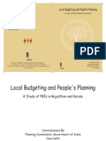 Local Budgeting and Peoples Planning
