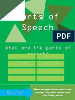 ENG101 Parts of Speech