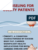 Counseling for Obesity