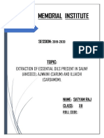 Saunf ajwaini project