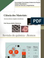 Aula ciência dos Materiais