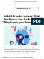 A01-A Quick Introduction to Artificial Intelligence, Machine Learning, Deep Learning and TensorFlow - By