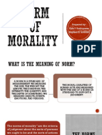 Norm of Morality